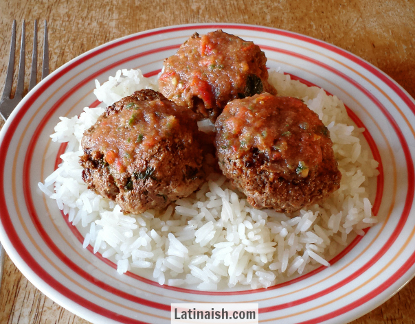 Salvadoran Albondigas (Meatballs)