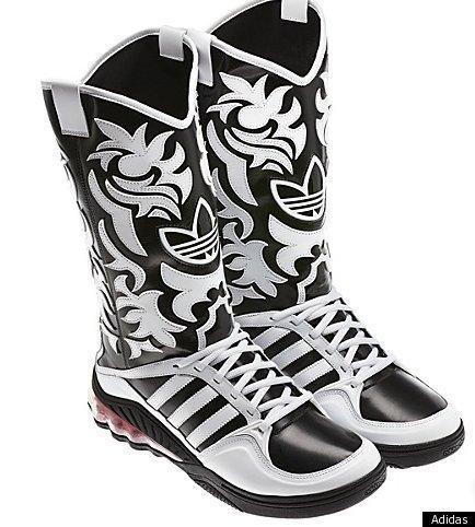 Adidas cowboy boots botas