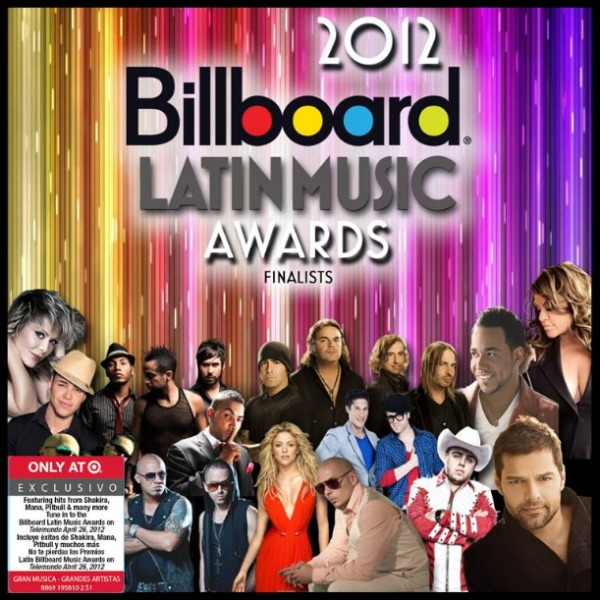 Latin Billboard Music Awards 2012 Finalists
