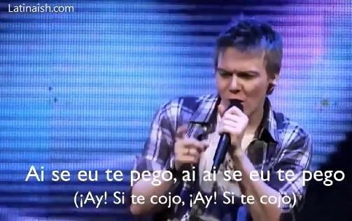 Ai Se Eu Te Pego – In Spanish! | Latinaish