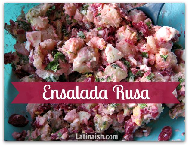 Ensalada Rusa In English