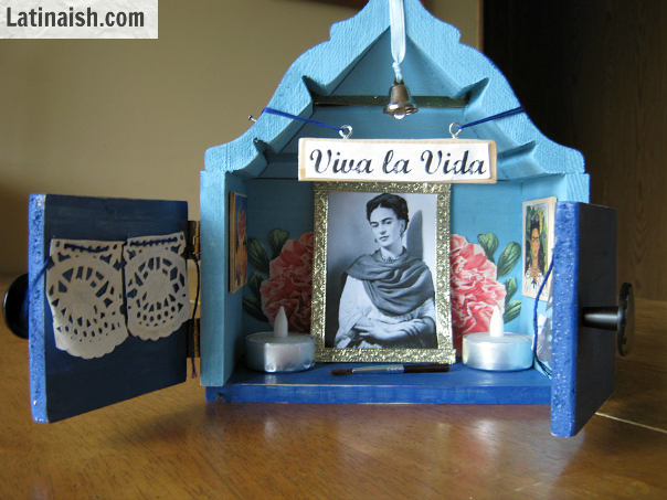 Do-it-Yourself Frida Kahlo Nicho