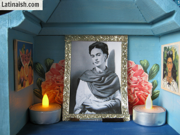 How to make a Frida Kahlo nicho