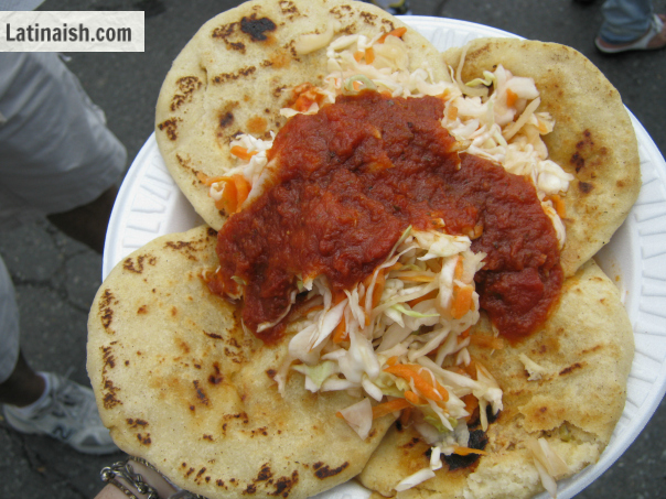 ... delicious pupusas either from your favorite pupusería or homemade