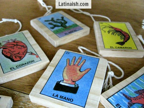 TracyLopez_Latinaish_LoteriaOrnaments2