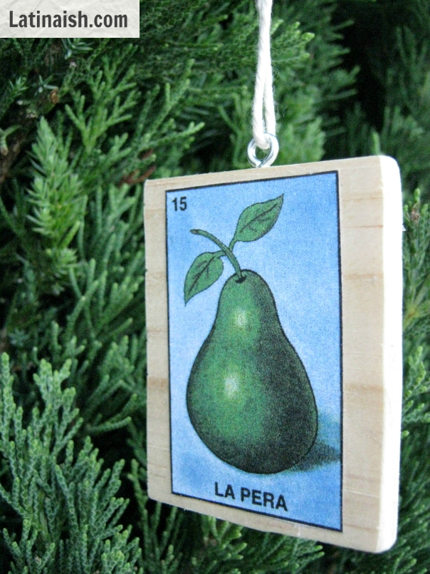 Make your own Mexican Bingo / Lotería ornaments