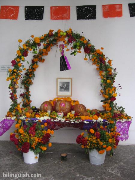Oaxaca Tamayo ofrenda
