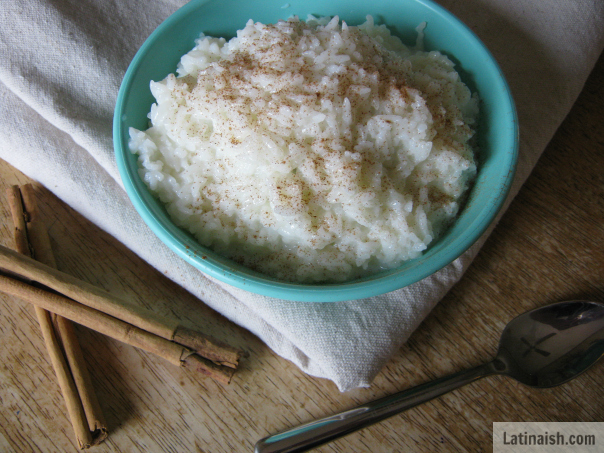 arroz con leche - latinaish.com