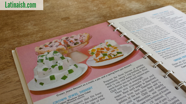 """These are called """"Crown Jewel"""" desserts and are very similar to gelatina de mosaico."""