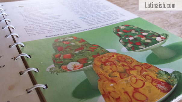 Radishes? Cauliflower? Seems like nothing is off-limits in this Jell-O cookbook.