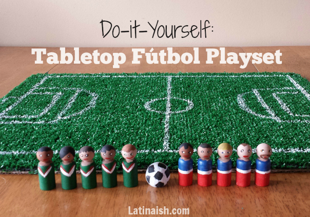 Do it Yourself Tabletop Fútbol Playset