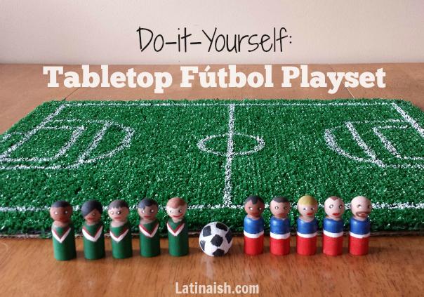 Do it Yourself Tabletop Fútbol Playset