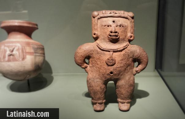 Pre-Classic period Maya female figure, 200 BC-AD 1, San Jacinto, San Salvador, El Salvador