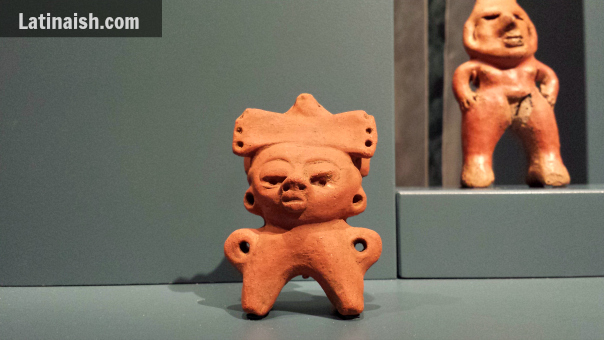 Classic period Maya figure, AD 600-900, Usulután, El Salvador