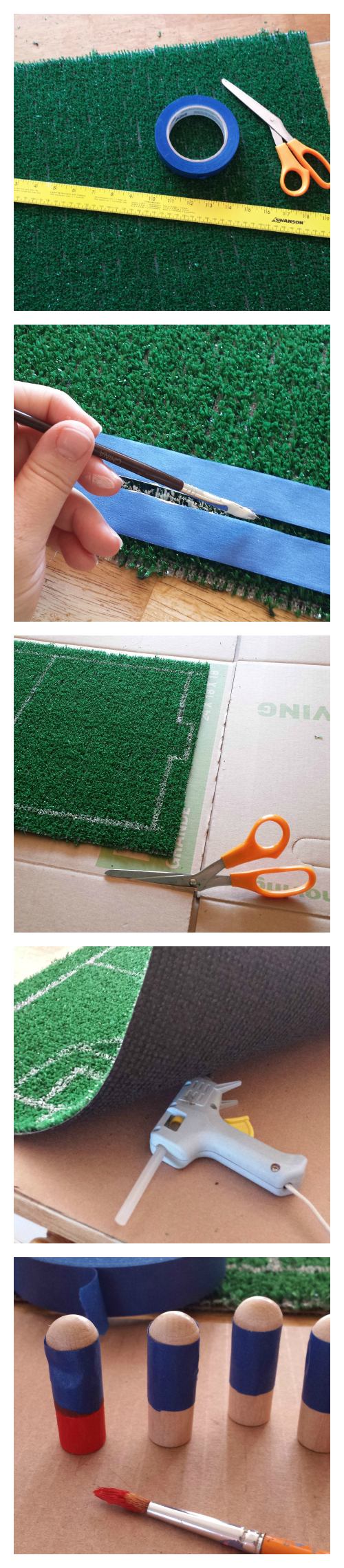 DIY Tabletop Soccer Playset