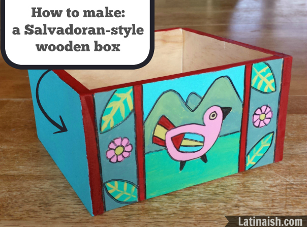 How to make a Salvadoran-style wooden box