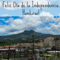 Independence Day Cards for 5 Central American Countries