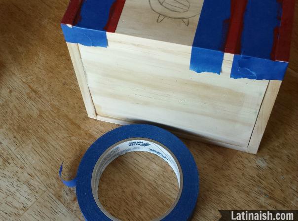Tape-box
