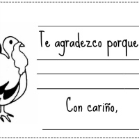 Spanish Thanksgiving Notes