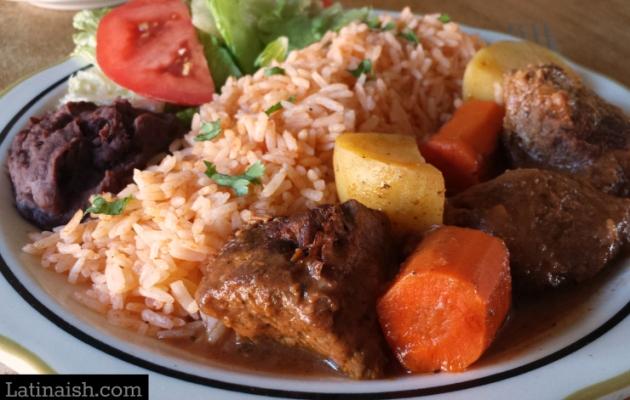 Salvadoran-style Carne Guisada