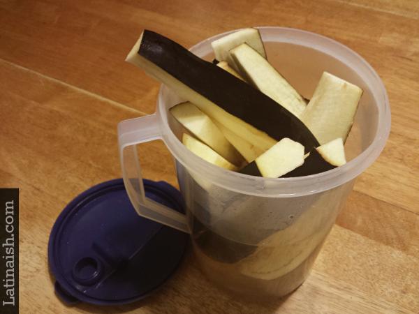 eggplant-water
