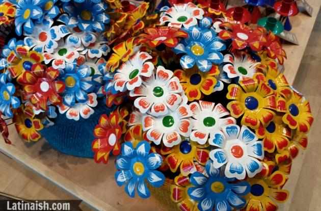 Peruvian flowers, folkart