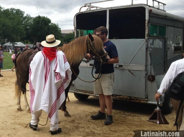 Peruvian horseman