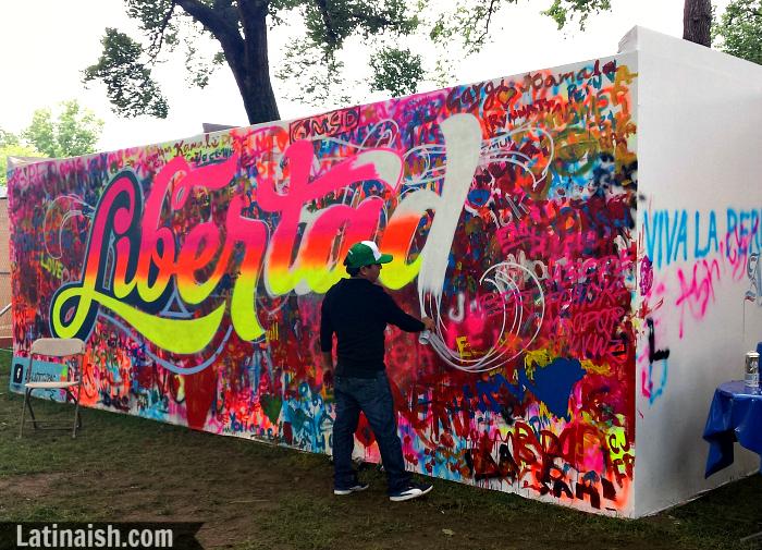 Peruvian urban art