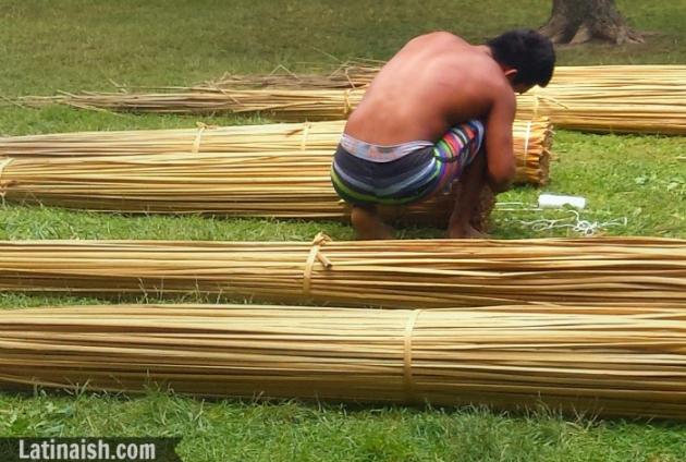 Peruvian reed boats