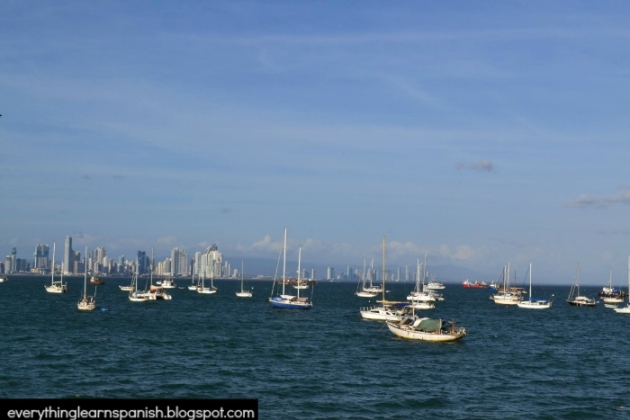 Bay of Panama and the city skyline