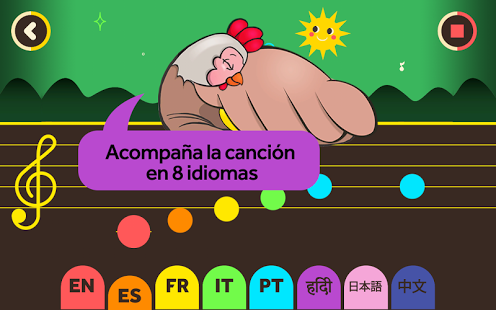 pollitos-languages