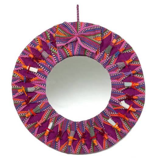 Handmade-Worry-Doll-Mirror-Guatemala